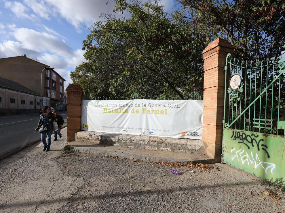 Lugar del futuro Museo de la guerra civil en Teruel /31-10-19/foto:Javier Escriche [[[FOTOGRAFOS]]]