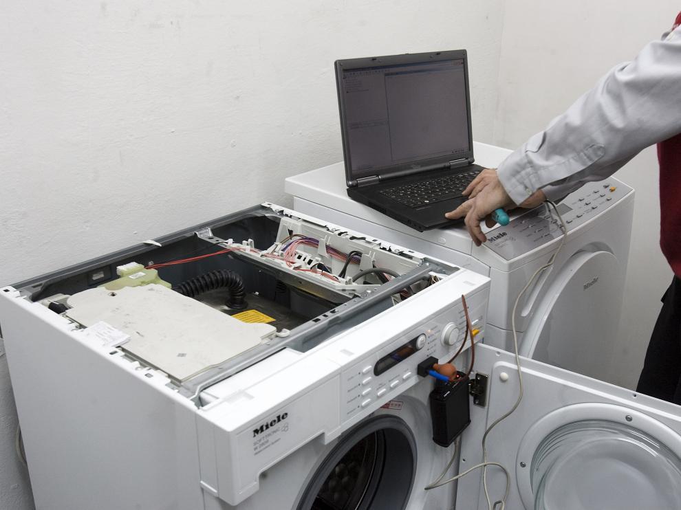 Reparación de una lavadora