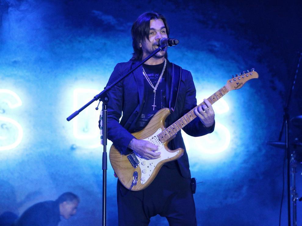 Juanes durante un reciente concierto en Pachuca (México).