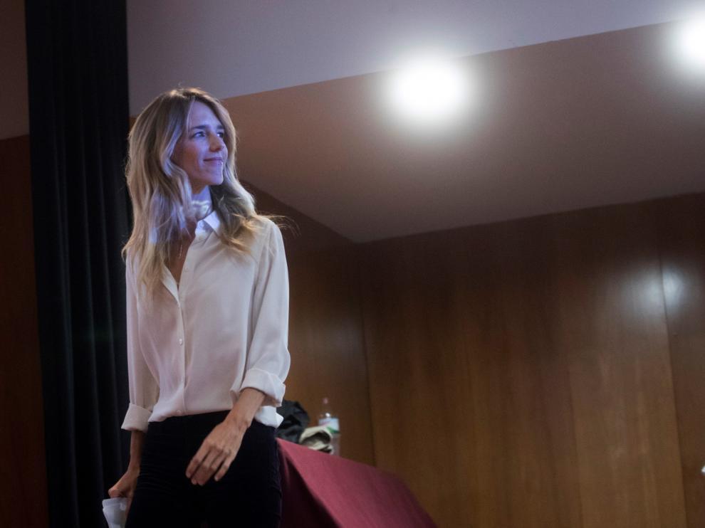 Cayetana Álvarez de Toledo ha participado este sábado en un acto en Barcelona con el título 'Homenaje a la resistencia en Cataluña'.