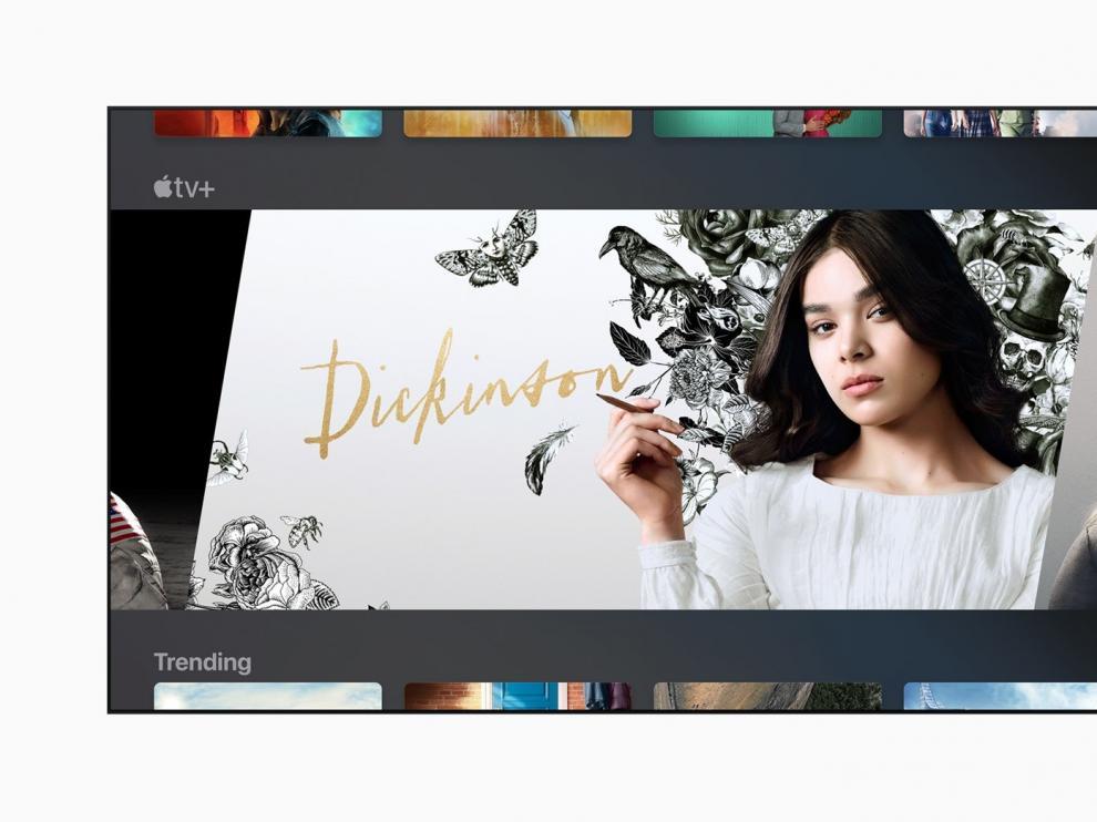 'Dickinson' es una de las series originales que ofrece Apple Tv Plus.
