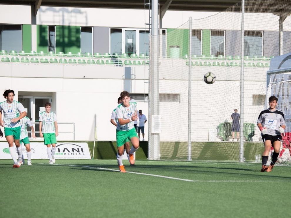 Fútbol. LN Juvenil de El Olivar.