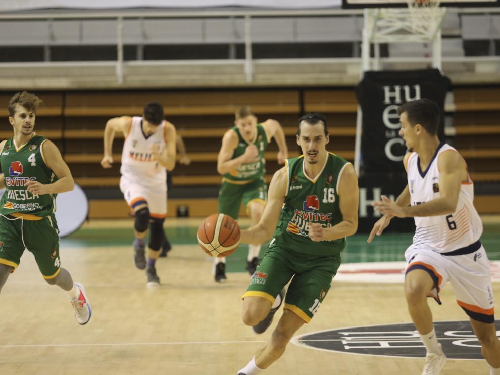 Baloncesto Levitec Melilla. / 3-11-19 / Foto Rafael Gobantes [[[FOTOGRAFOS]]]