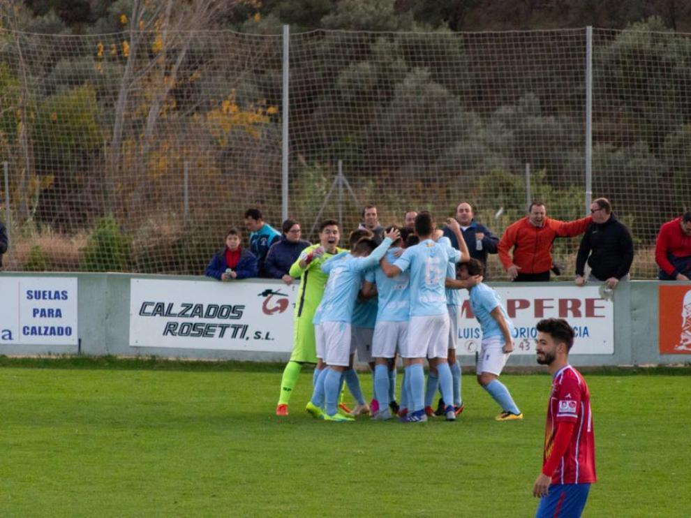 Partido Valdefierro 0-4 Brea: Tercera División.