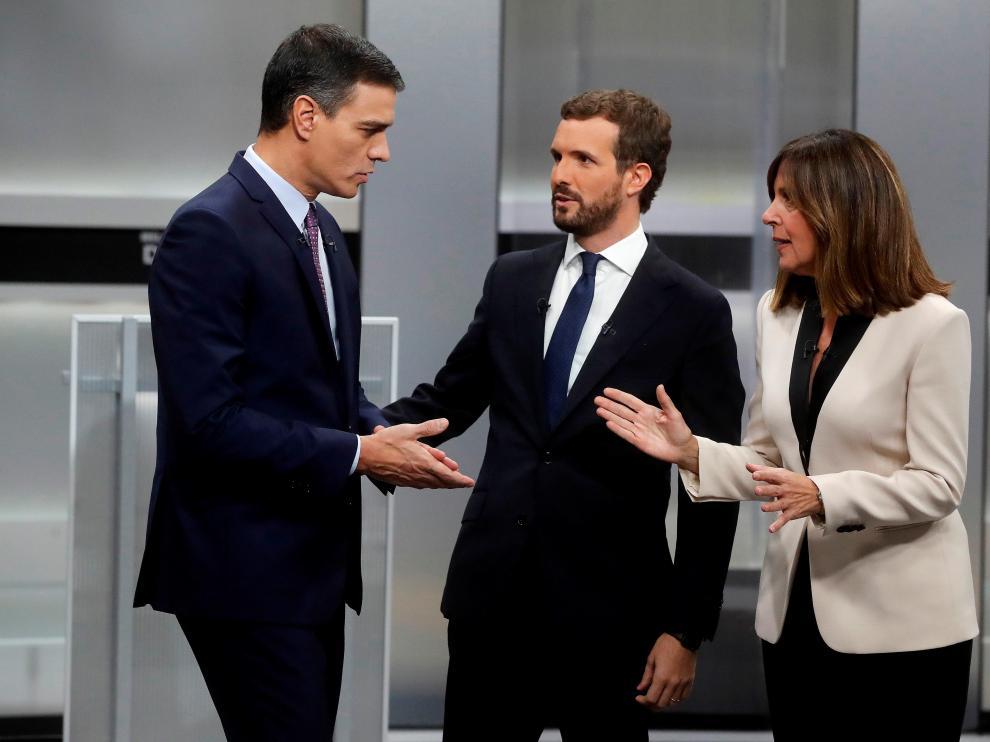 Debate a cinco de las elecciones generales del 10 de noviembre