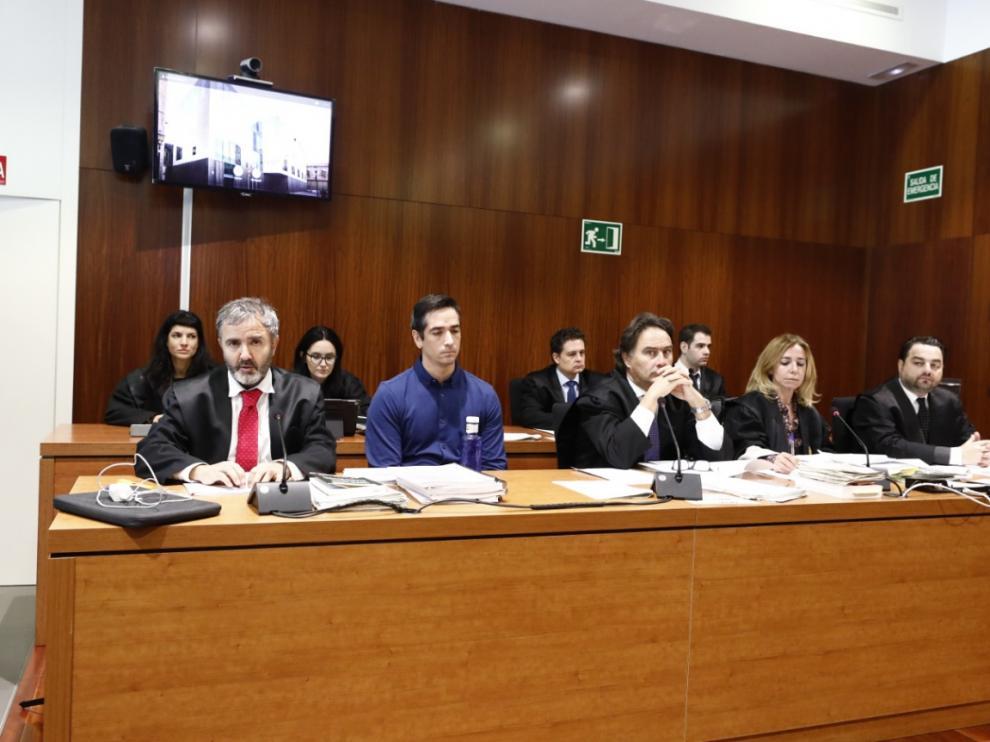 Imágenes de la segunda sesión del juicio contra Rodrigo Lanza por el crimen de los tirantes.