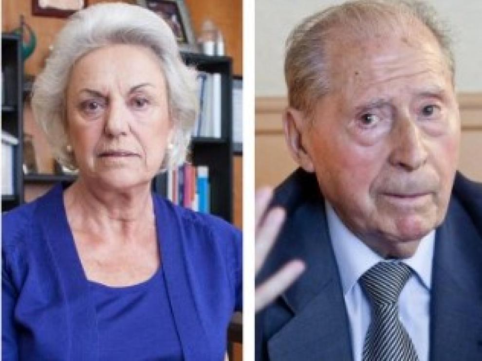 Pilar Muro y Ángel Luengo.