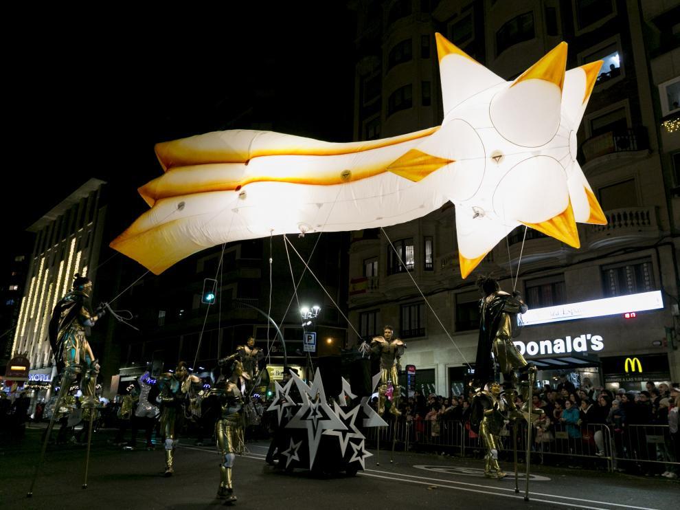 Imagen de un momento de la cabalgata de Reyes del año pasado.