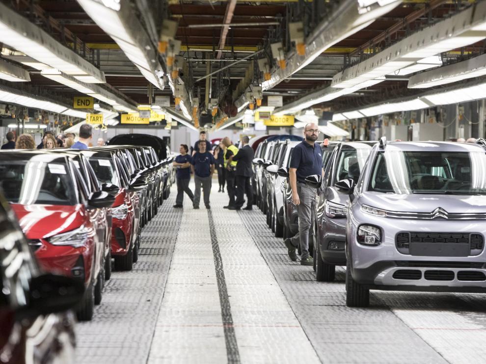 Instalaciones de la planta de Opel PSA
