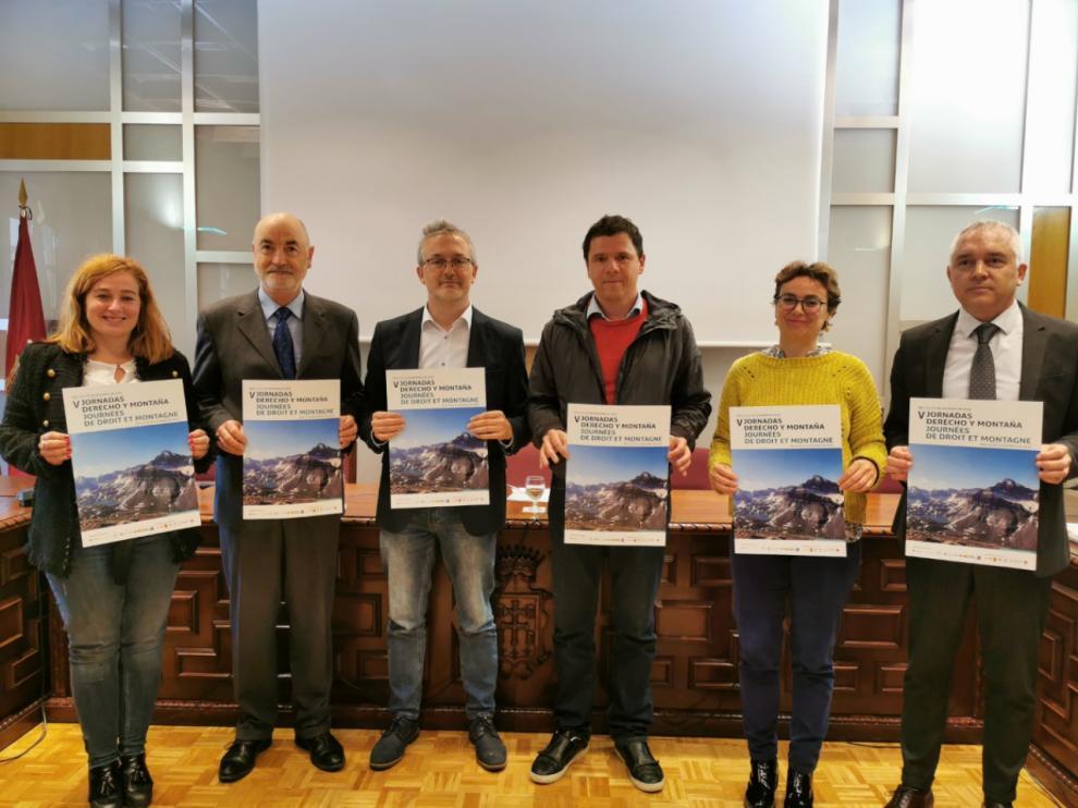 Presentación de las Jornadas de Derecho y Montaña en Jaca
