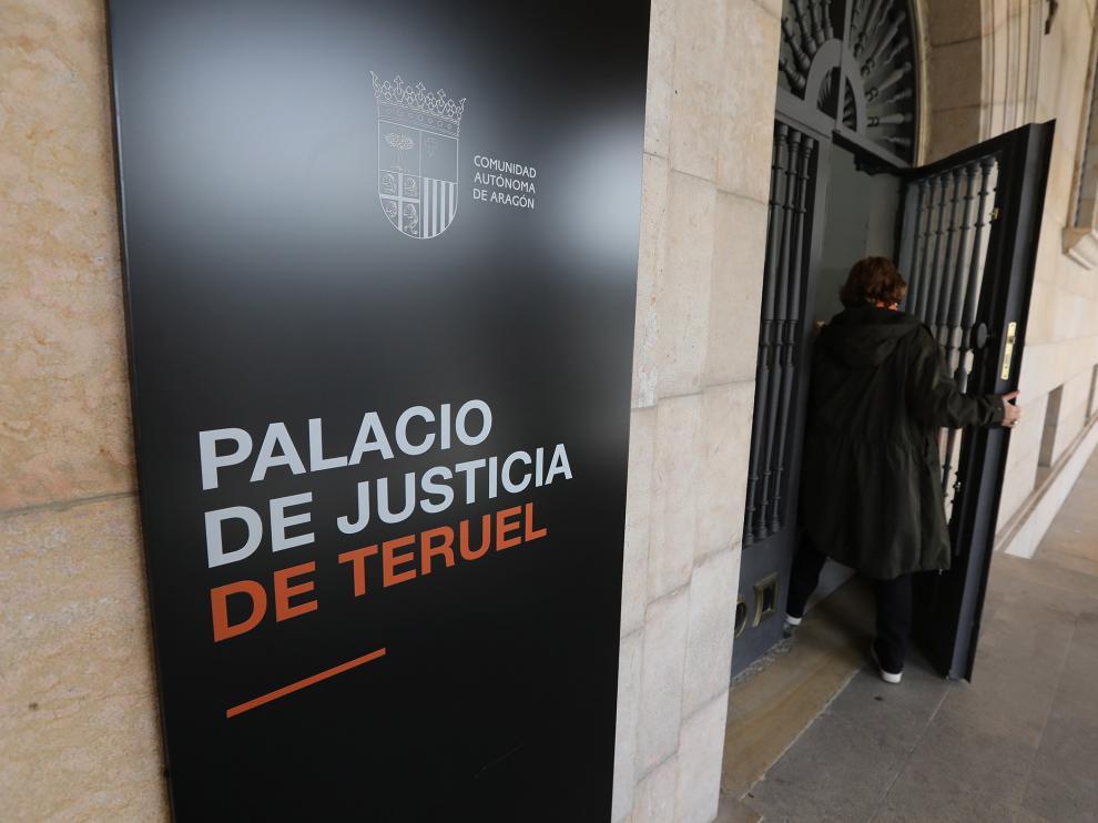 Juzgados de Teruel/06-11-19/foto:Javier Escriche [[[FOTOGRAFOS]]]