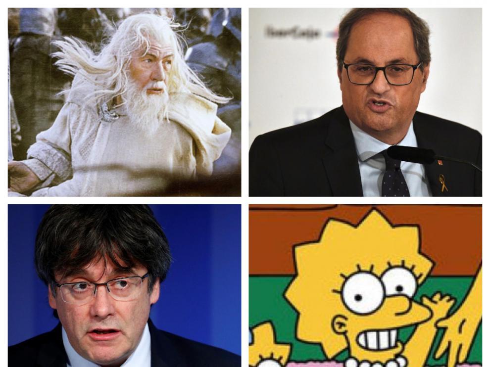 Los CDR detenidos tenían nombres en clave para Torra y Puigdemont, 'Gandalf' y 'Lisa'.