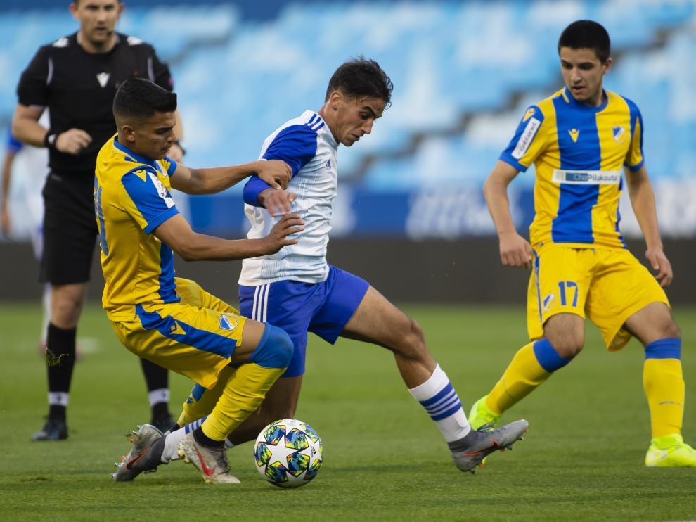 Real Zaragoza juvenil-Apoel Nicosia
