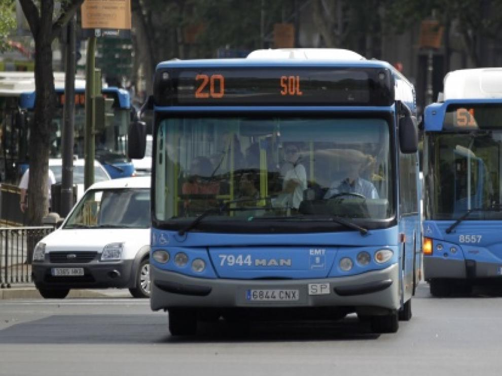 El incidente tuvo lugar en un autobús de la capital nacional.