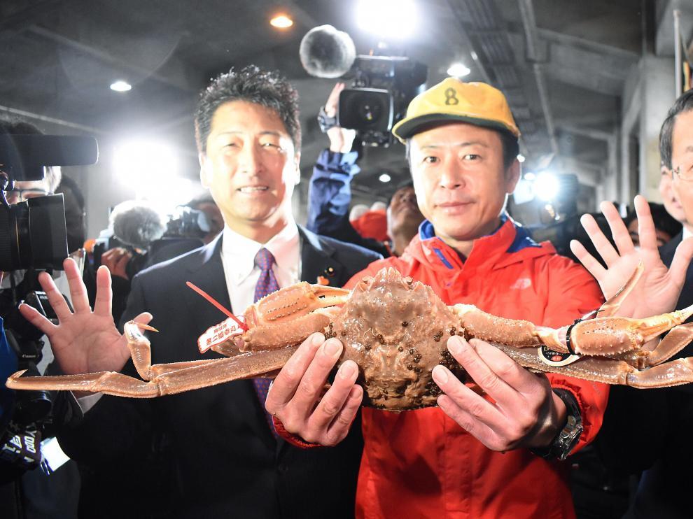 El cangrejo fue capturado tras el comienzo de la temporada de pesca
