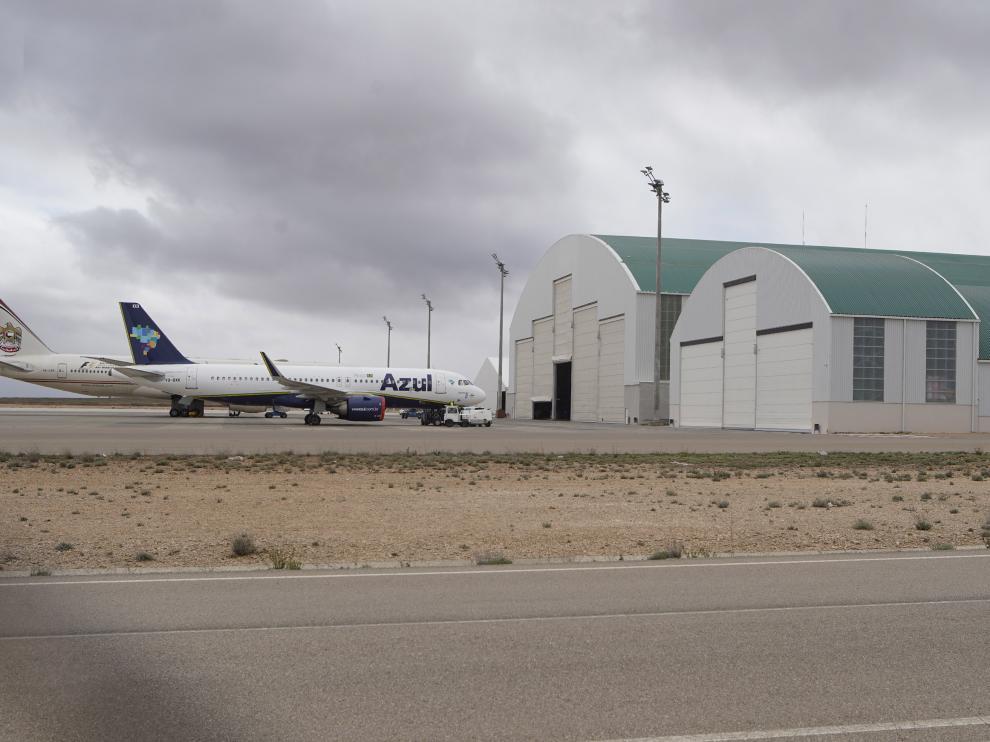 Instalaciones del aeropuerto de Teruel. Foto Antonio Garcia/bykofoto.24/04/19 [[[FOTOGRAFOS]]]
