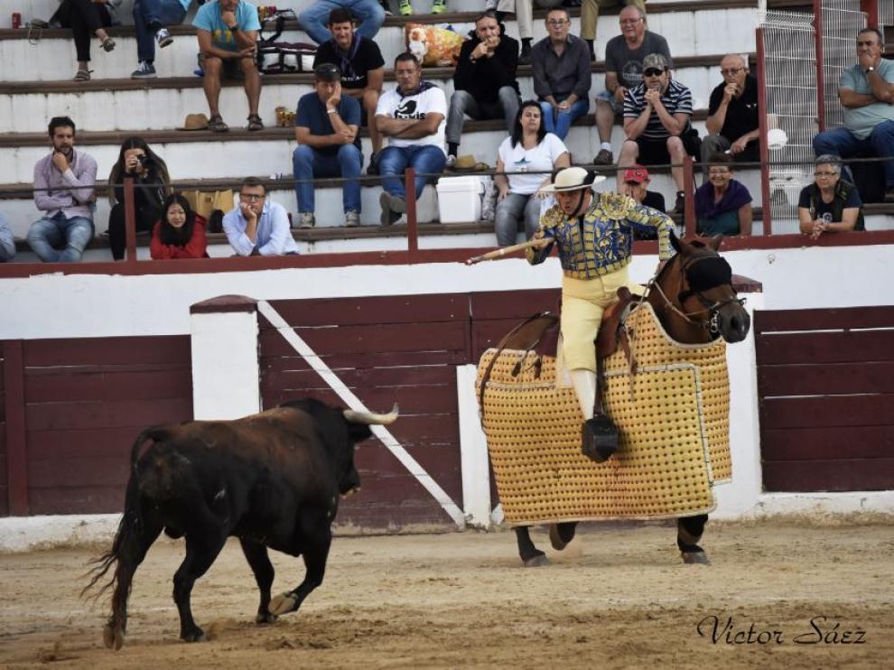 Imagen de la novillada de Andorra.