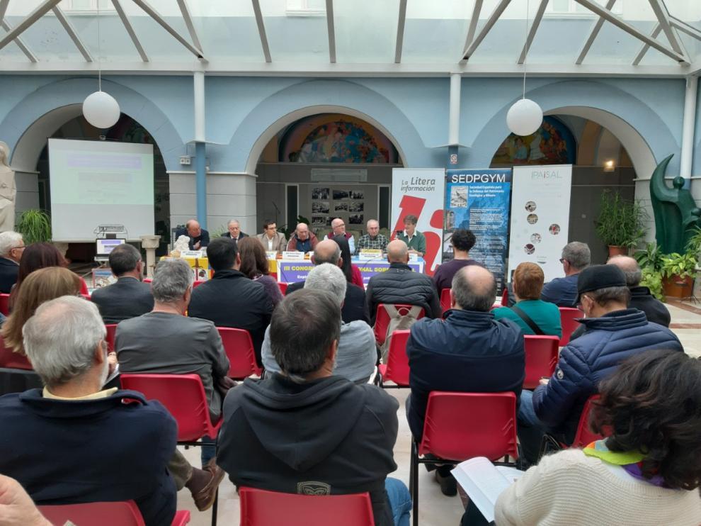 Inauguración del III Congreso Internacional sobre la Sal.