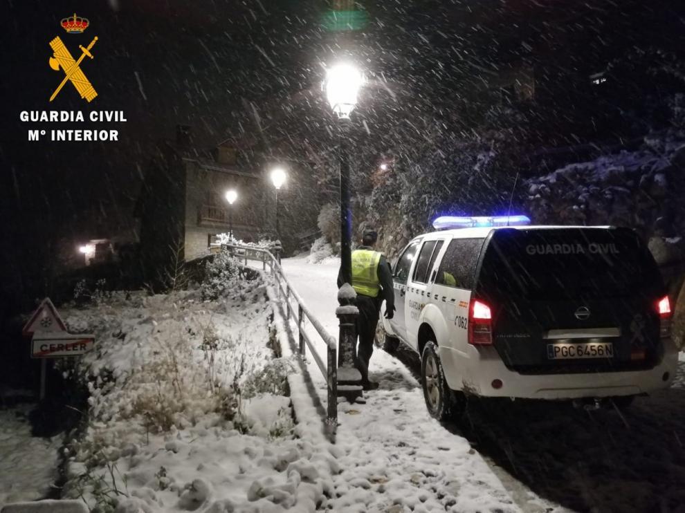 La Guardia Civil ha realizado numerosos auxilios debido al temporal.