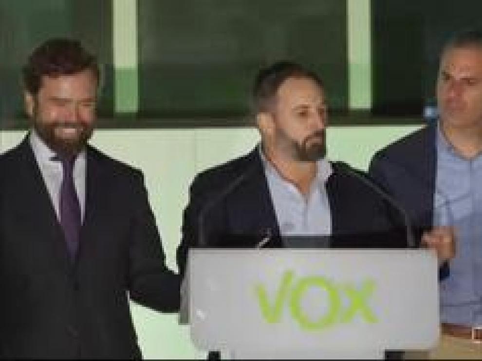 VOX ha aumentado 28 escaños en comparación a los comicios del pasado mes de abril