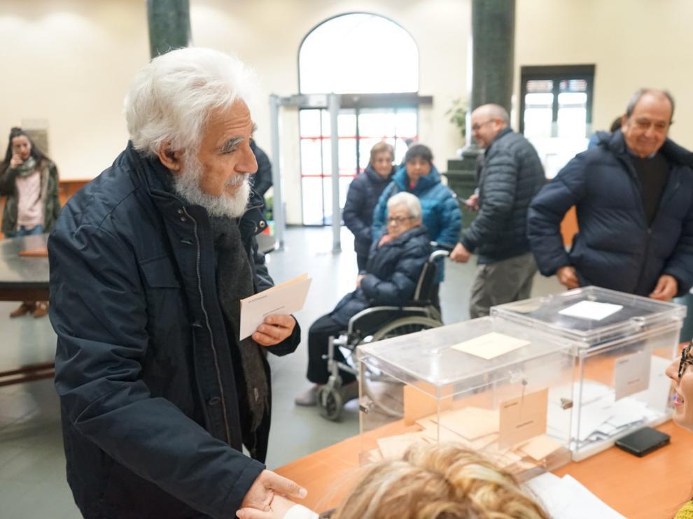 El número dos al Congreso por la agrupación de electores Teruel Existe, Manuel Gimeno