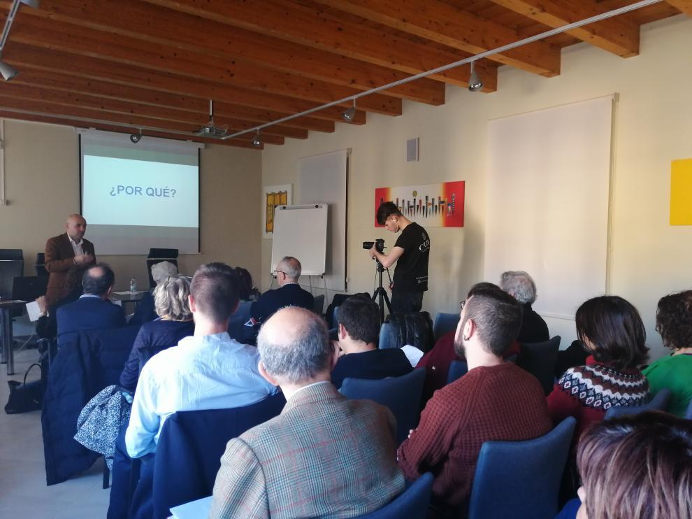 La Asociación Territorio Goya ha organizado en Belchite y Fuendetodos unas jornadas en las que se han abordado experiencias de innovación y cultura contra la despoblación.