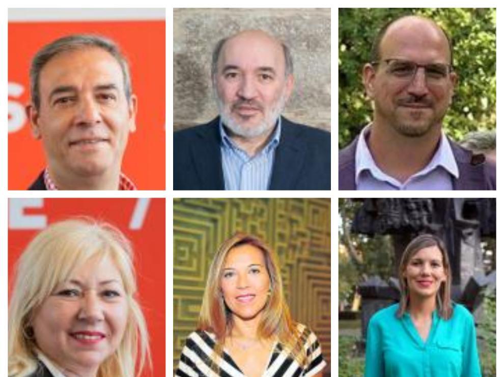 Algunos de los senadores elegidos