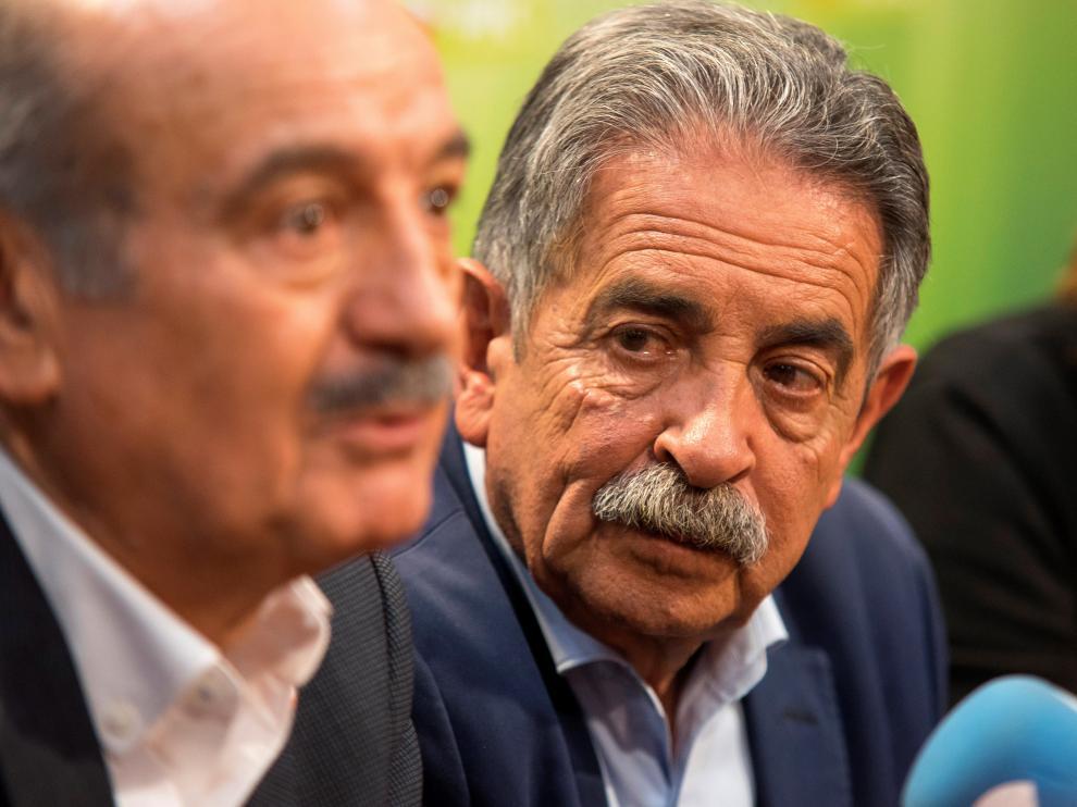 El secretario general del PRC y presidente cántabro, Miguel Ángel Revilla.