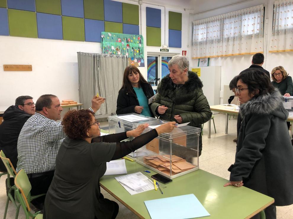Jornada electoral el domingo en Barbastro.