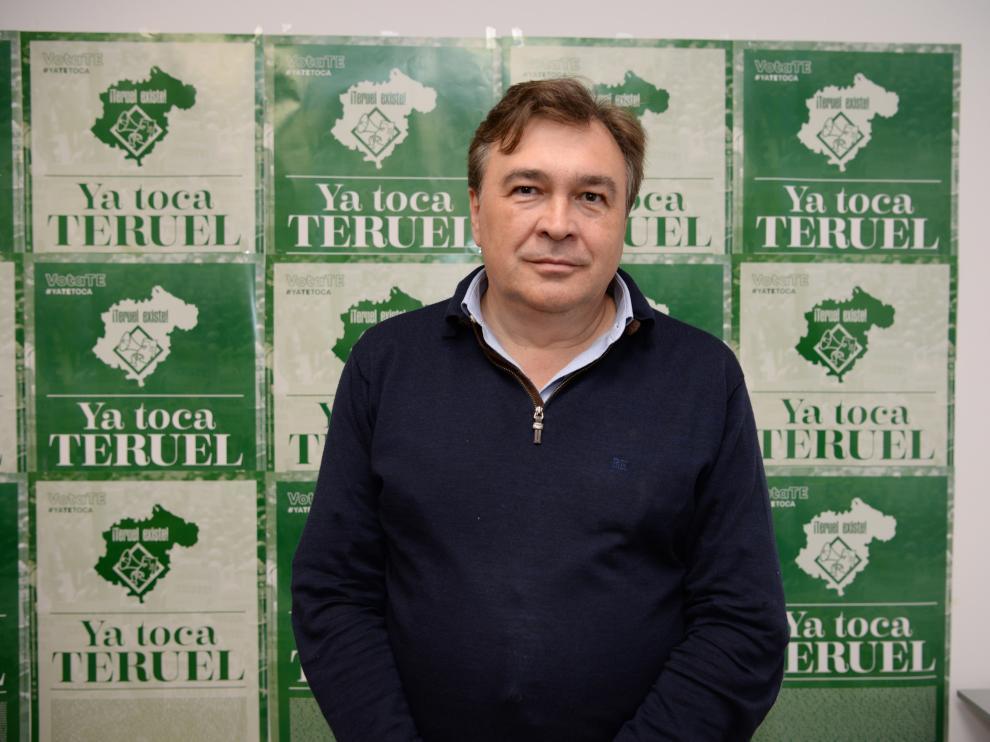 Rueda de prensa Teruel Existe por la victoria electoral /2019-11-11/ Foto: Jorge Escudero [[[FOTOGRAFOS]]]