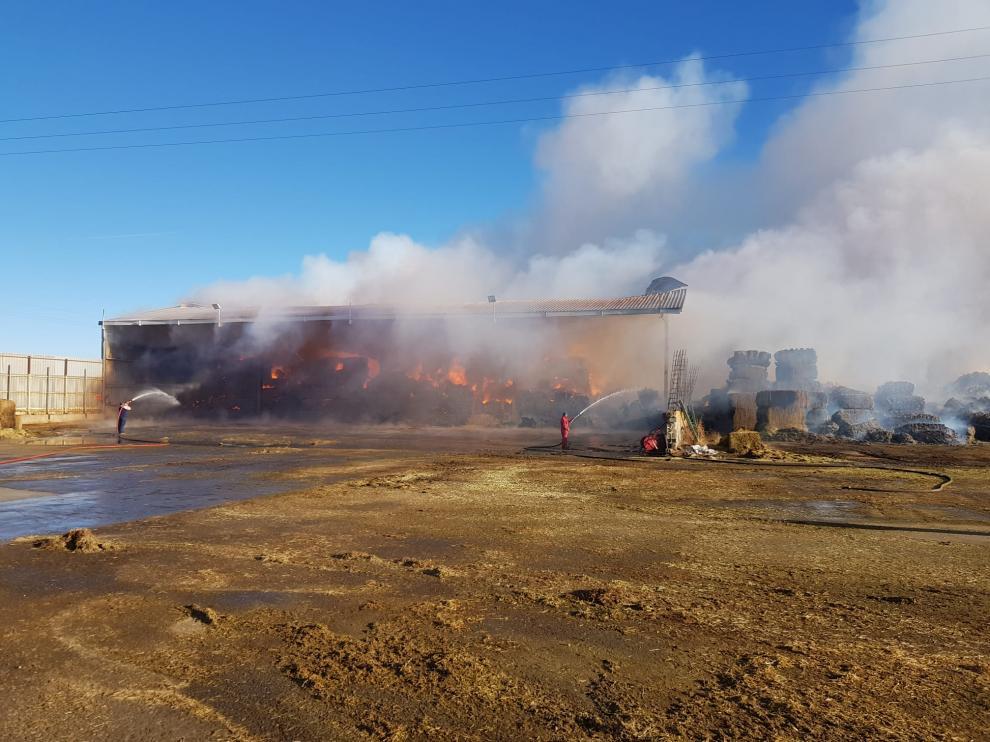 Las instalaciones afectadas están en la zona norte de la localidad.