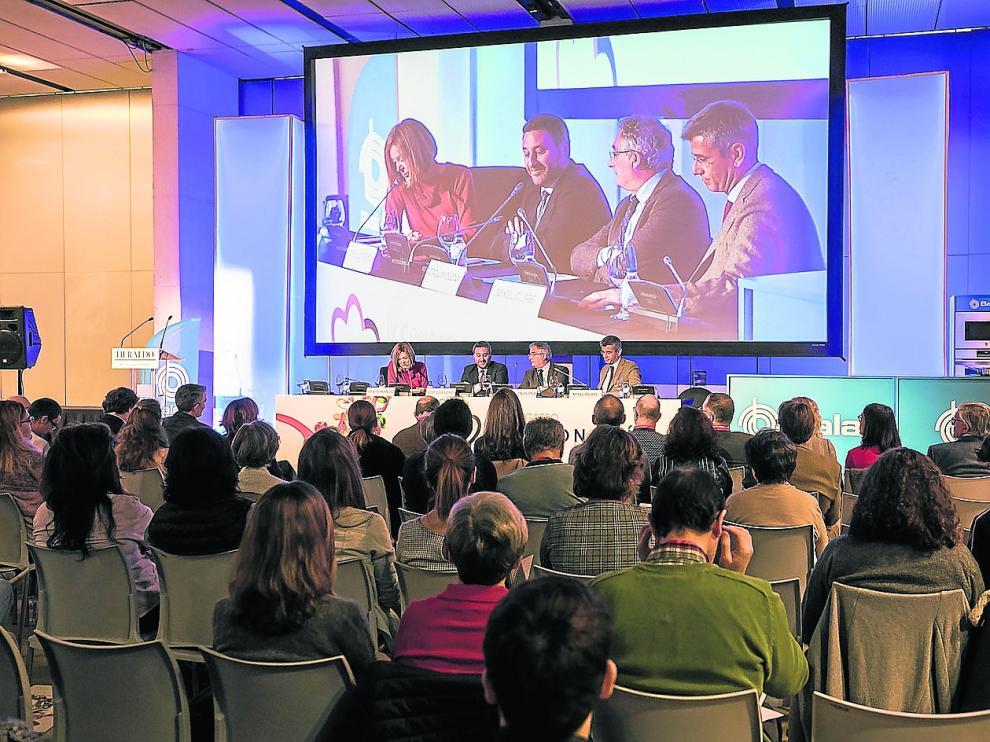Inauguración de la edición del año pasado del Congreso Gastronomía & Salud.
