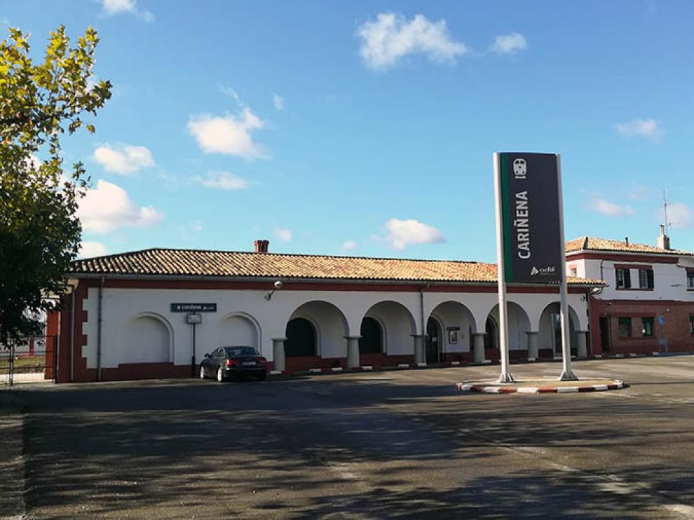 La estación de tren de Cariñena volverá a vender billetes