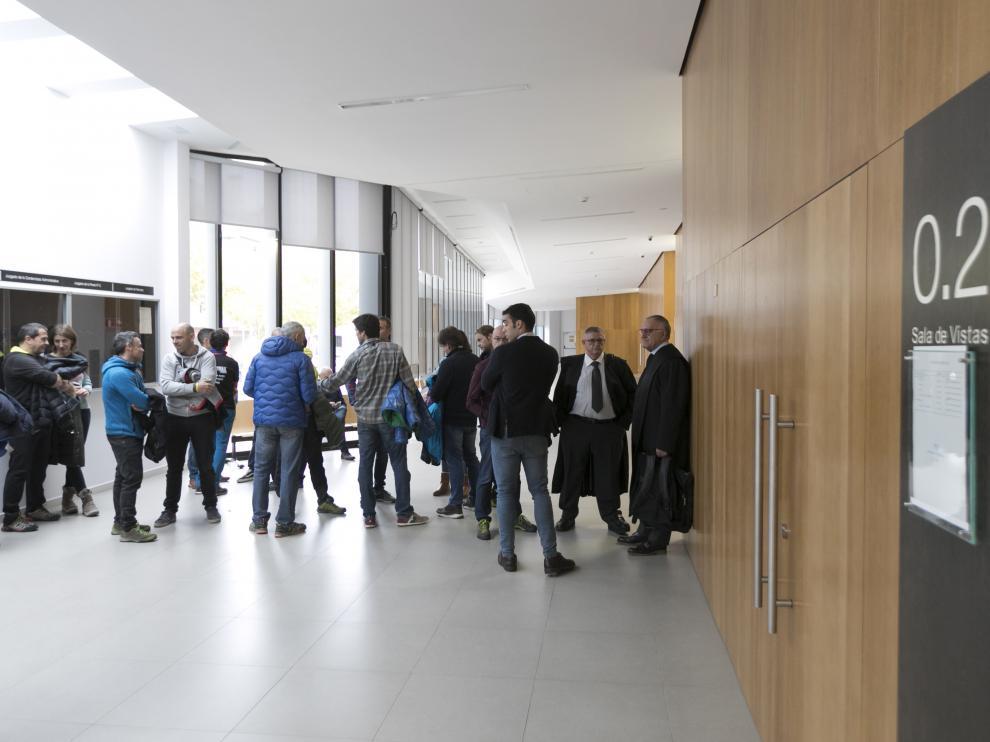 Palacio de Justicia.Juicio por las oposiciones de bomberos. / 14-11-19 / Foto Rafael Gobantes [[[FOTOGRAFOS]]]