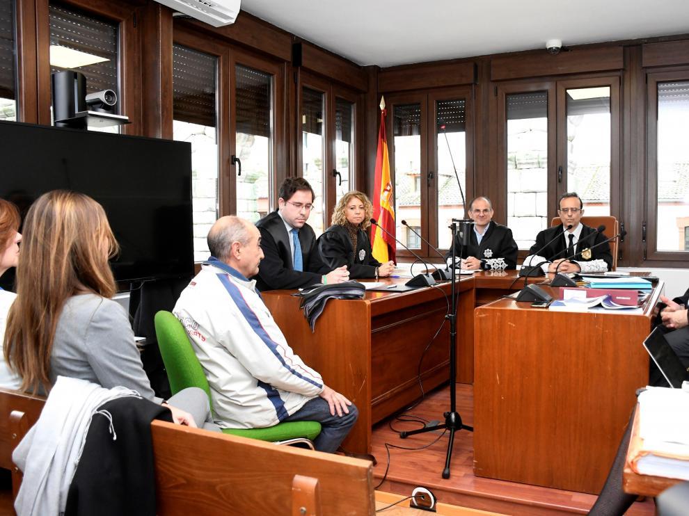 Vista oral que se ha celebrado este jueves en el Juzgado de lo Penal de Segovia