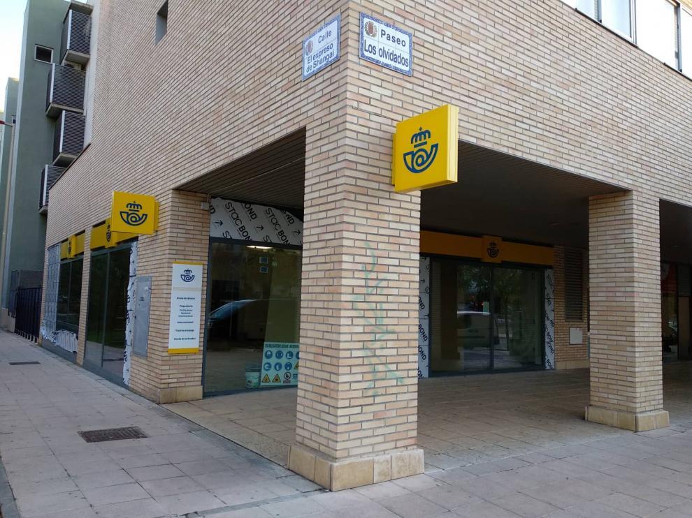 Las obras de la oficina de Correos de Valdespartera encaran su recta final