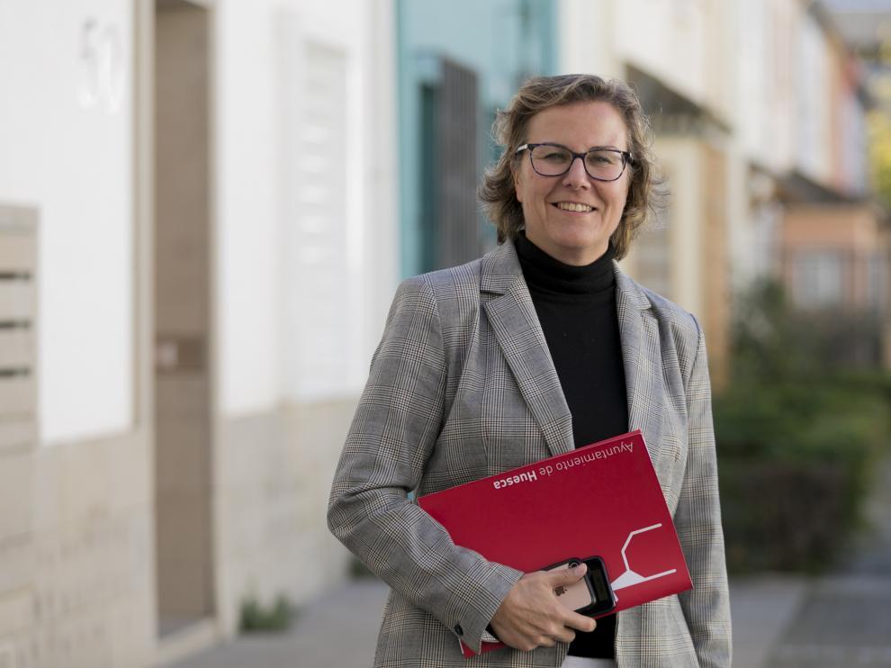 Beatriz Rivas, nueva intendente de la Policía Local de Huesca.