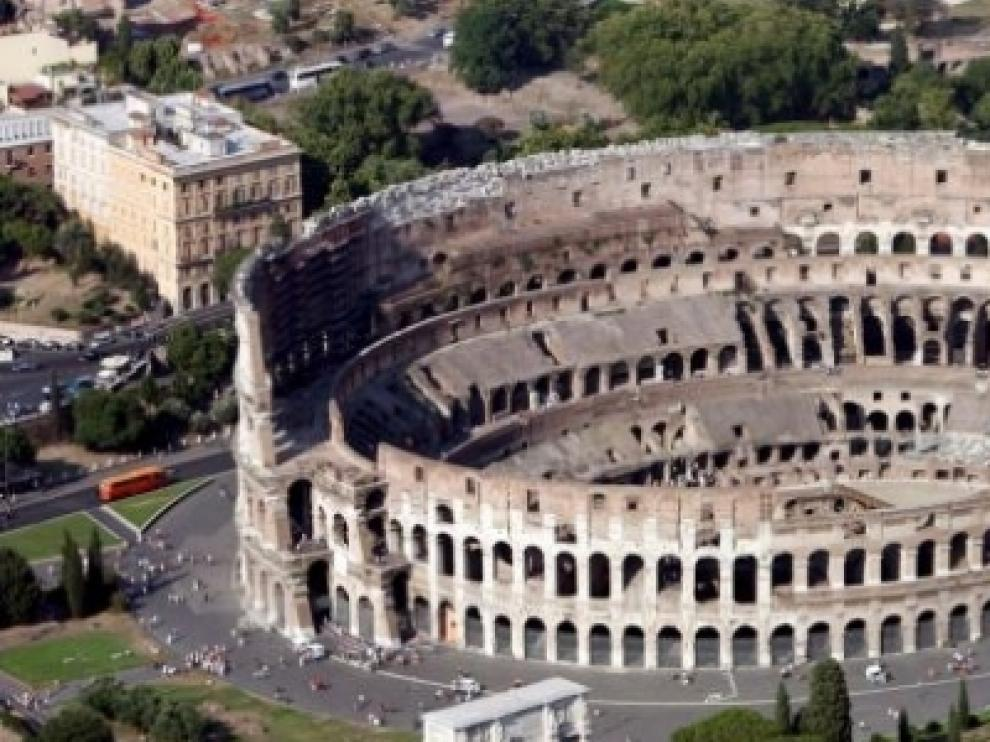 El coliseo, símbolo del Imperio Romano