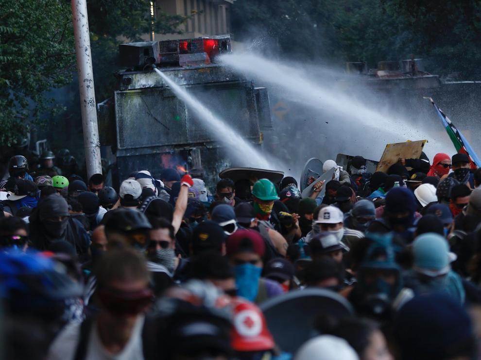Continúan las protestas en Chile.
