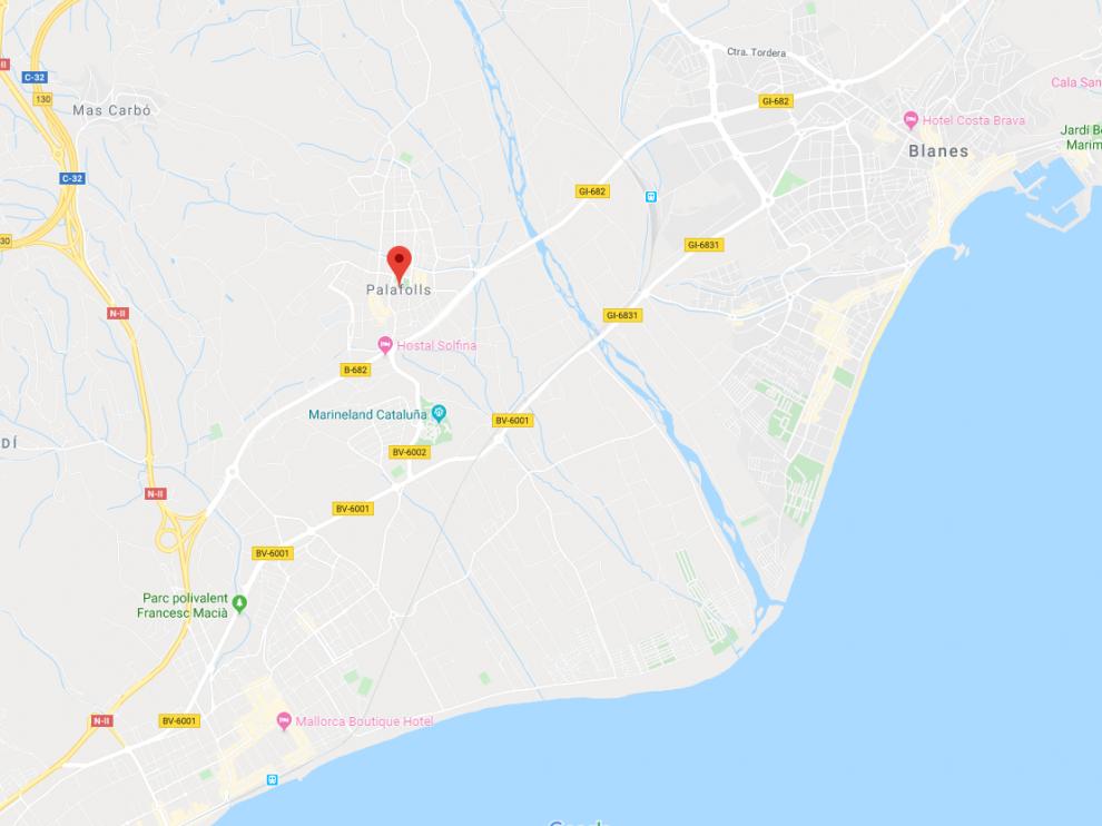 El atropello ha tenido lugar de madrugada en la localidad de Pallafols, mientras que el conductor ha sido detenido en Blanes.