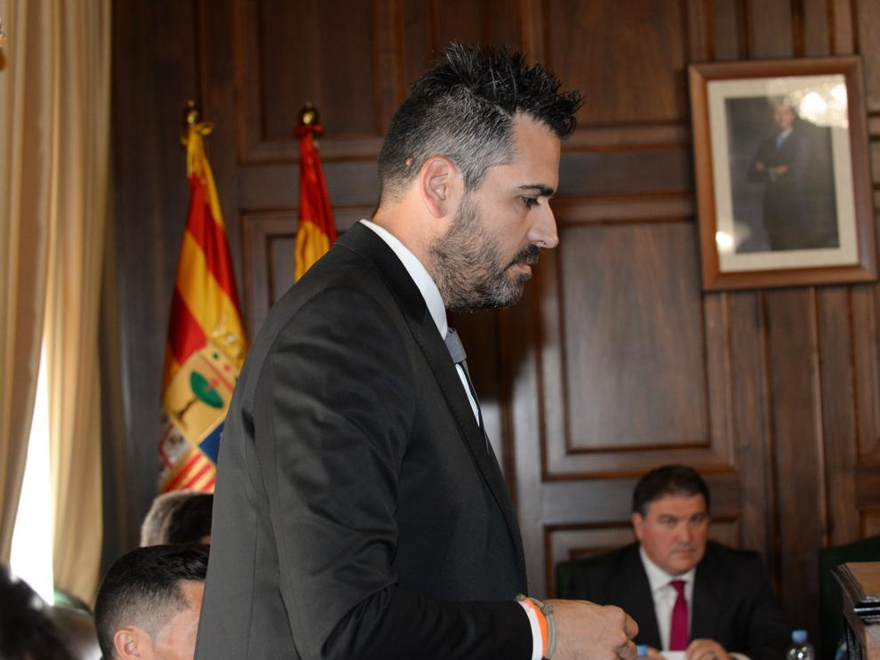 Francisco Blas concejal del Ayuntamiento de Teruel /2019-11-16/ Foto: Jorge Escudero [[[FOTOGRAFOS]]]