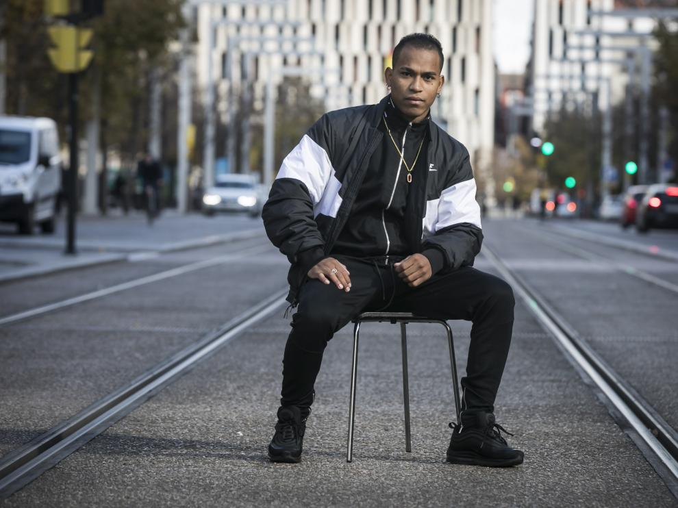 Sudy King, cantante de trap/ 12-11-2019 / FOTO: GUILLERMO MESTRE [[[FOTOGRAFOS]]]
