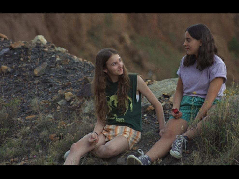 Un fotograma de la película aragonesa 'Ojos negros'.