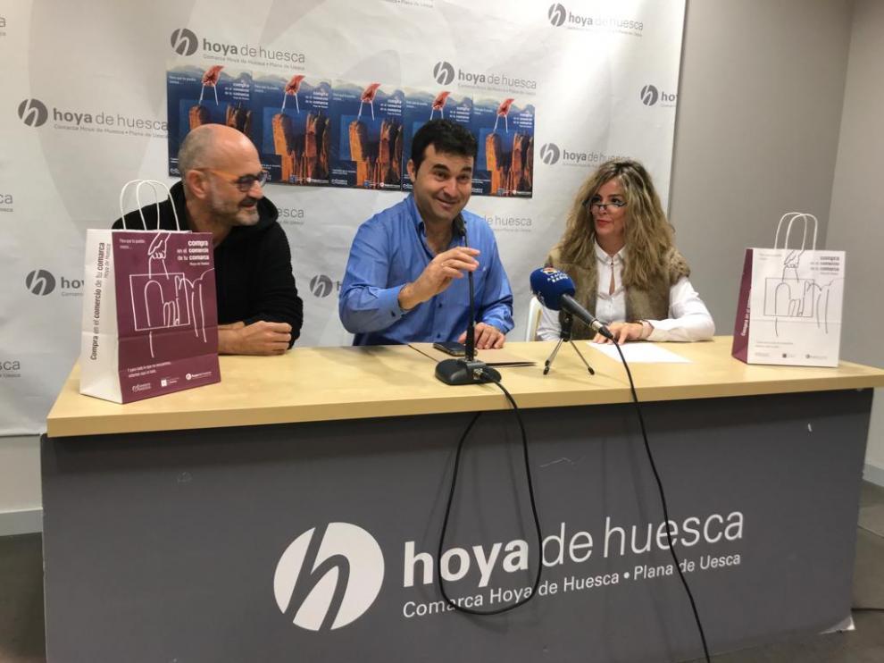 Presentación de la campaña del comercio de la Hoya de Huesca.