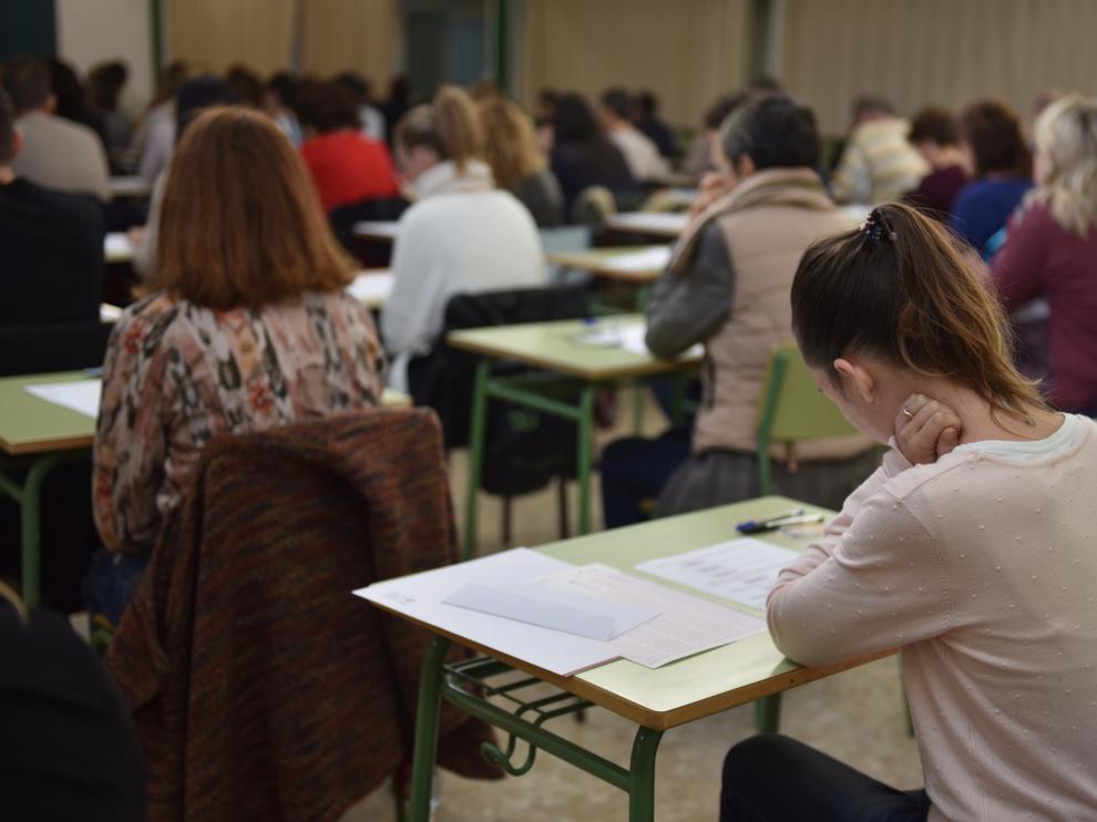 El primer examen de la oposición para conserje se celebró el 26 de octubre.