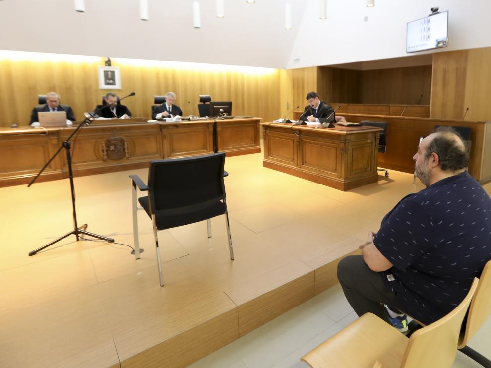 Imagen del juicio celebrado en la Audiencia Provincial de Huesca.