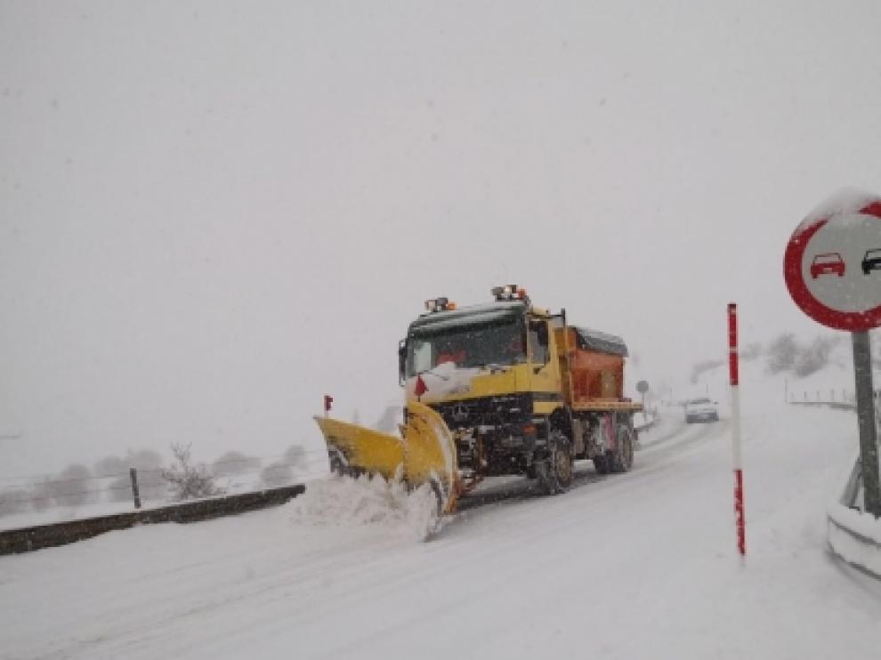 Carreteras del Pirineo, imagen de archivo.