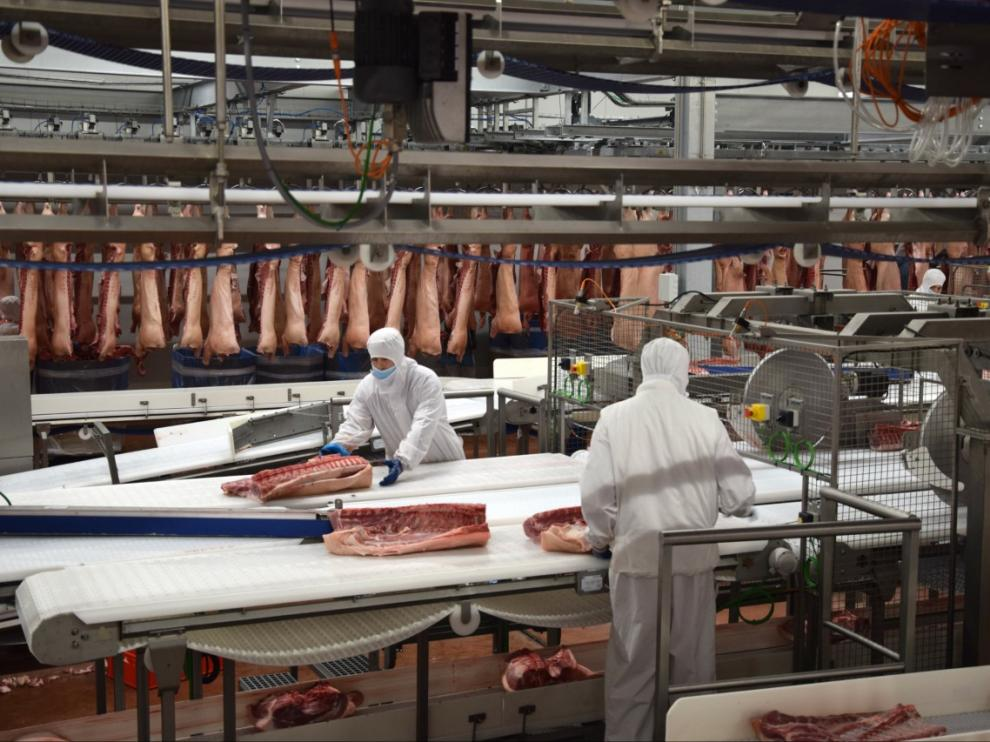 El matadero inició su actividad en verano y ya suma 800 empleos.