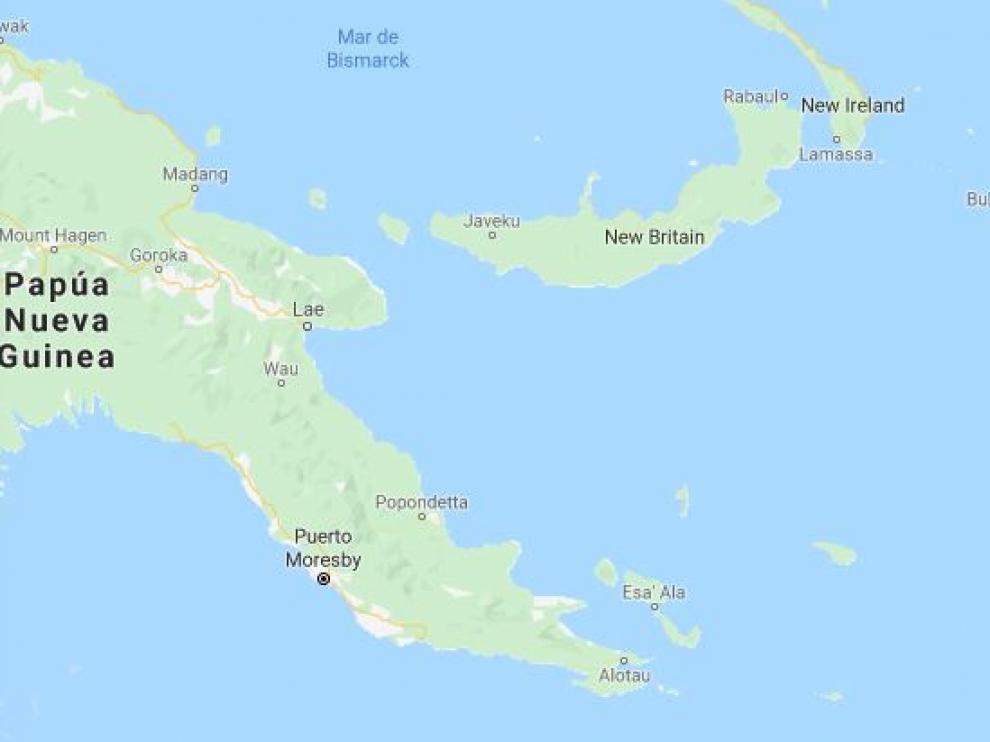 Bougainville está en Oceanía.