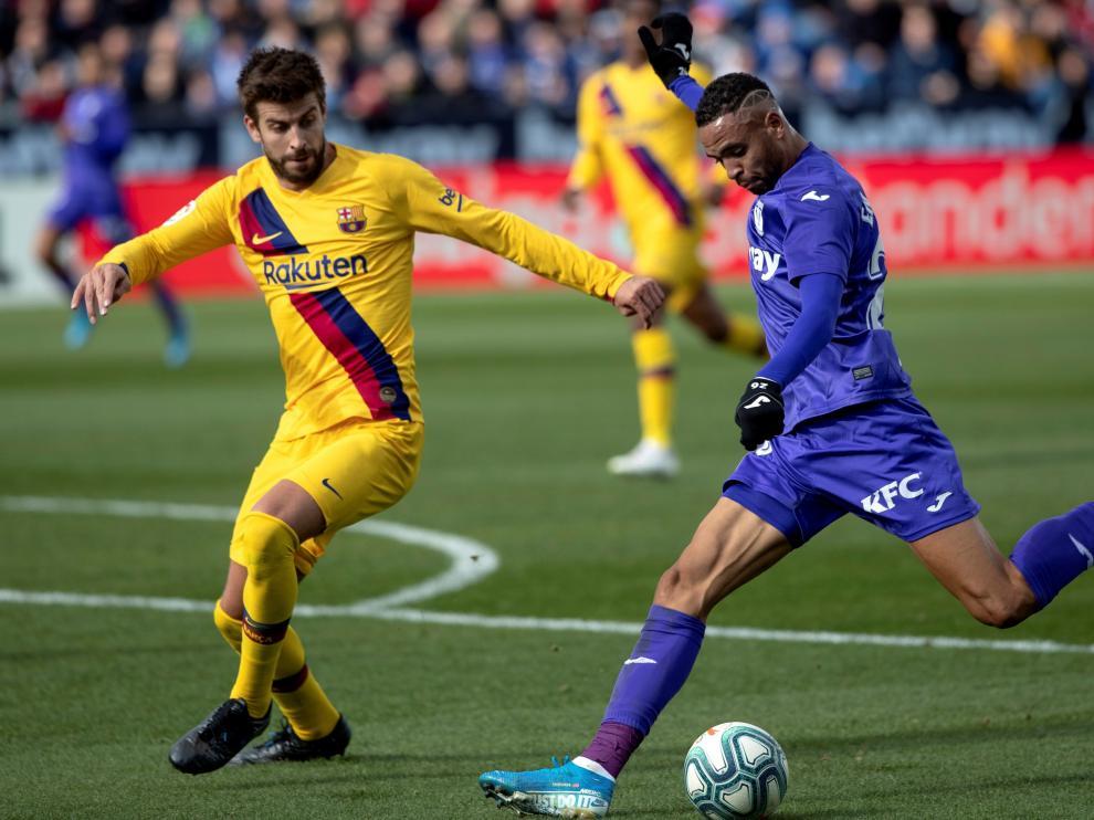 Partido del Leganés-FC Barcelona.